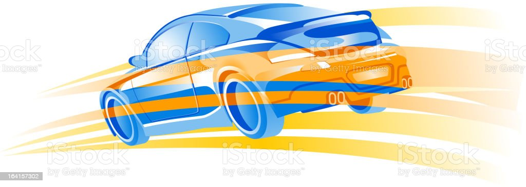 speed of car royalty-free speed of car stock vector art & more images of car