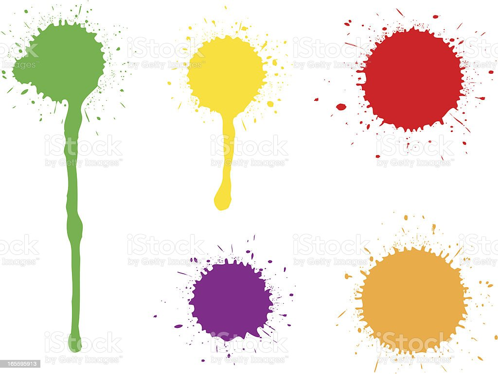 Splats collections royalty-free splats collections stock vector art & more images of abstract