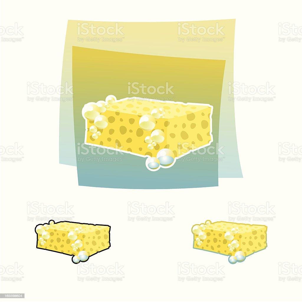 Sponge royalty-free sponge stock vector art & more images of bath sponge