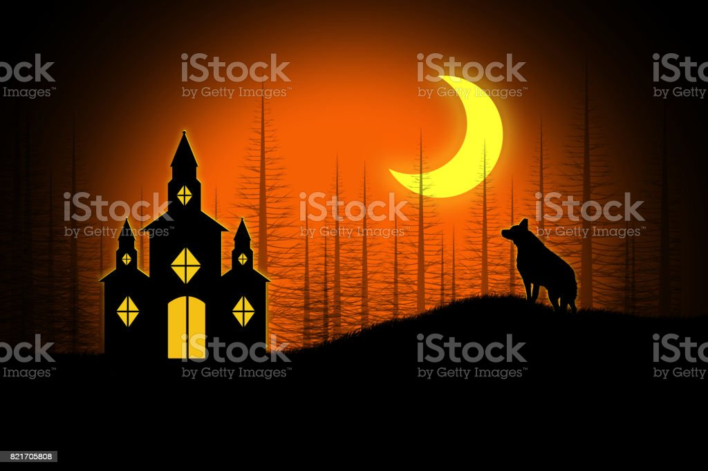 spooky halloween church royalty free spooky halloween church stock vector art more images