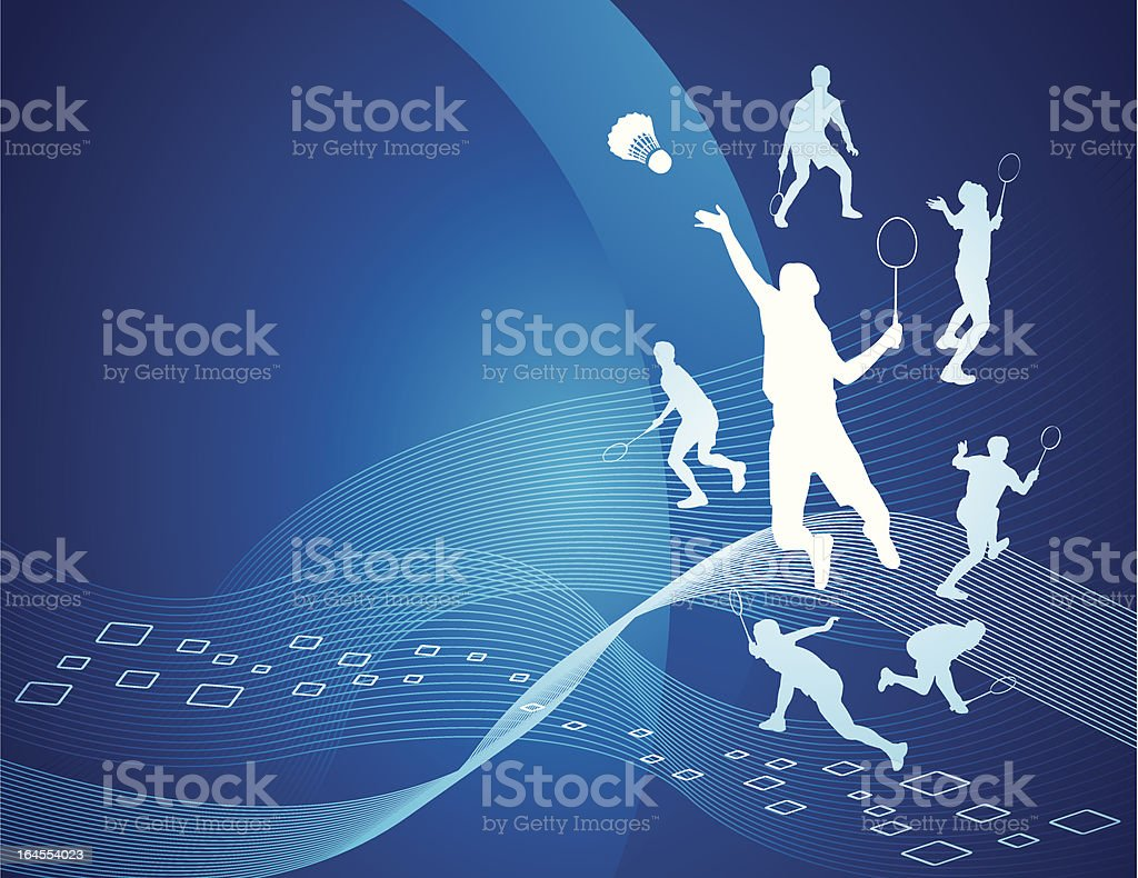 Sport background vector art illustration