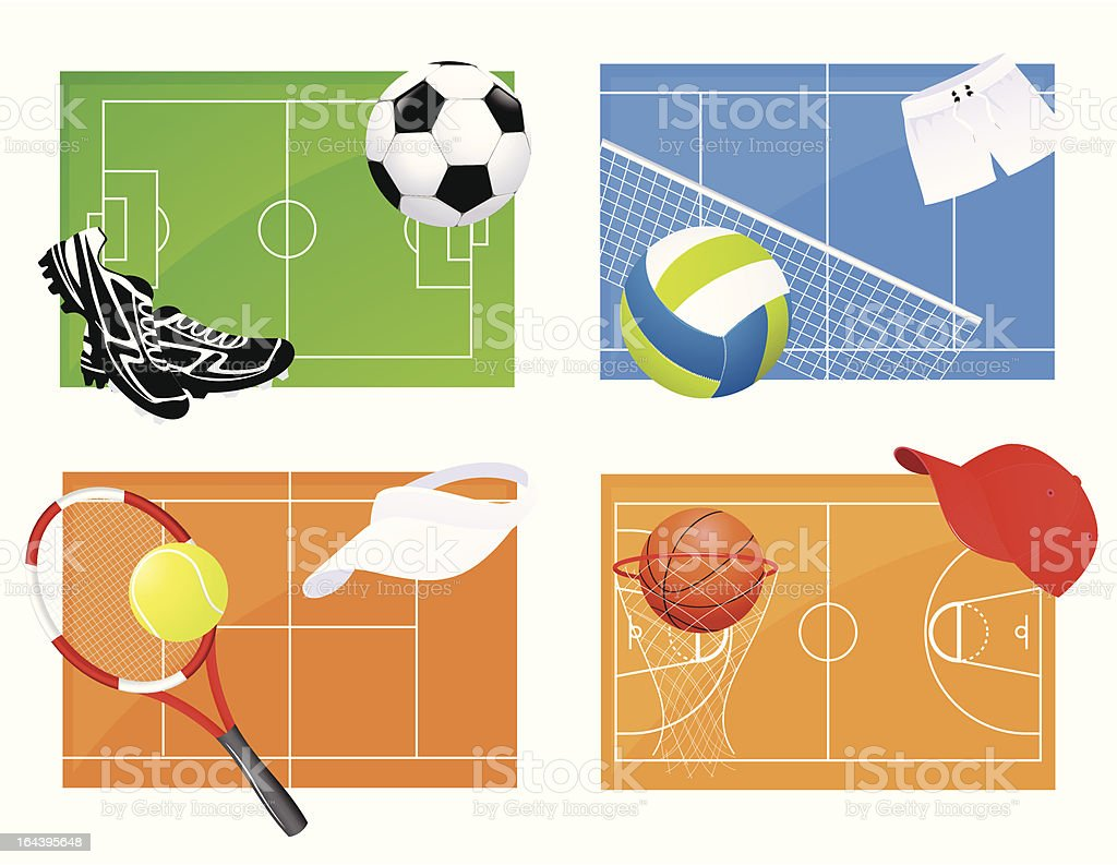 Sport backgrounds royalty-free sport backgrounds stock vector art & more images of backgrounds