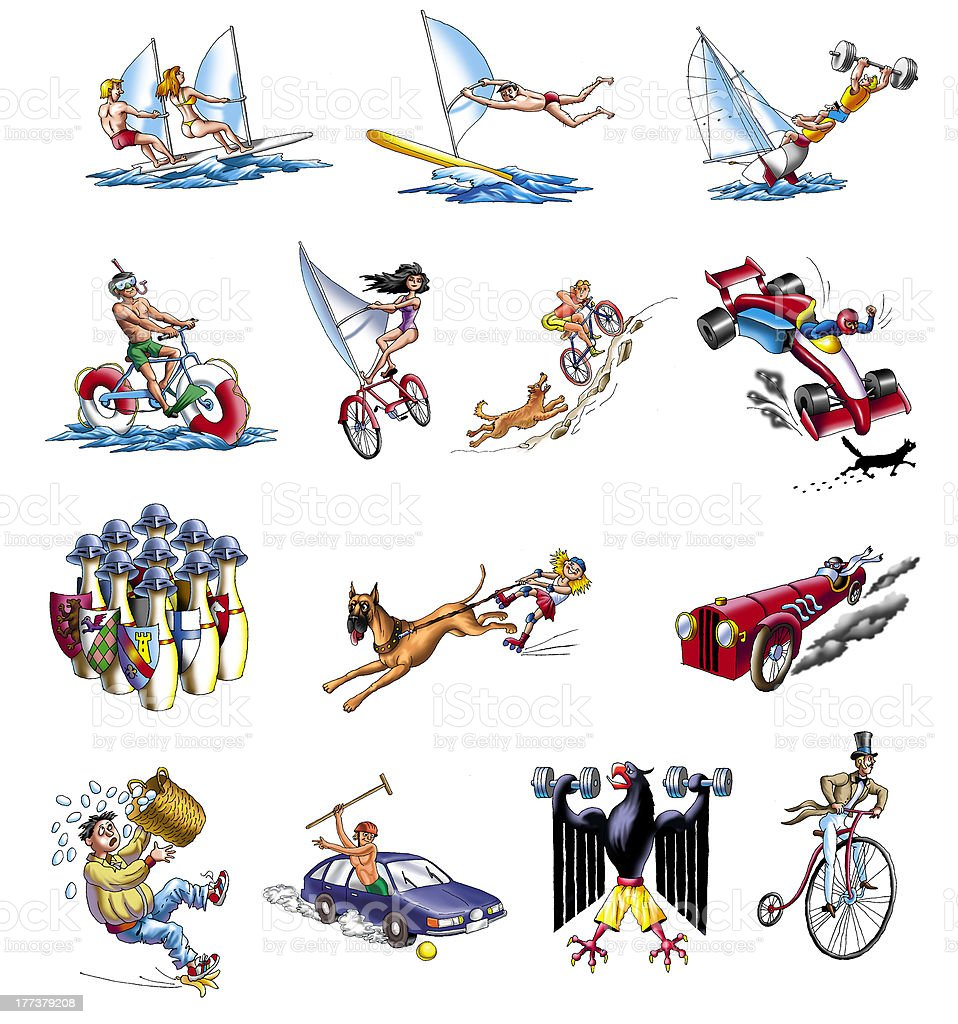sport royalty-free stock vector art