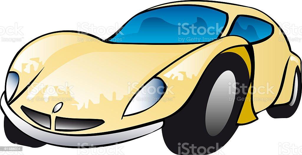 sports car – Vektorgrafik