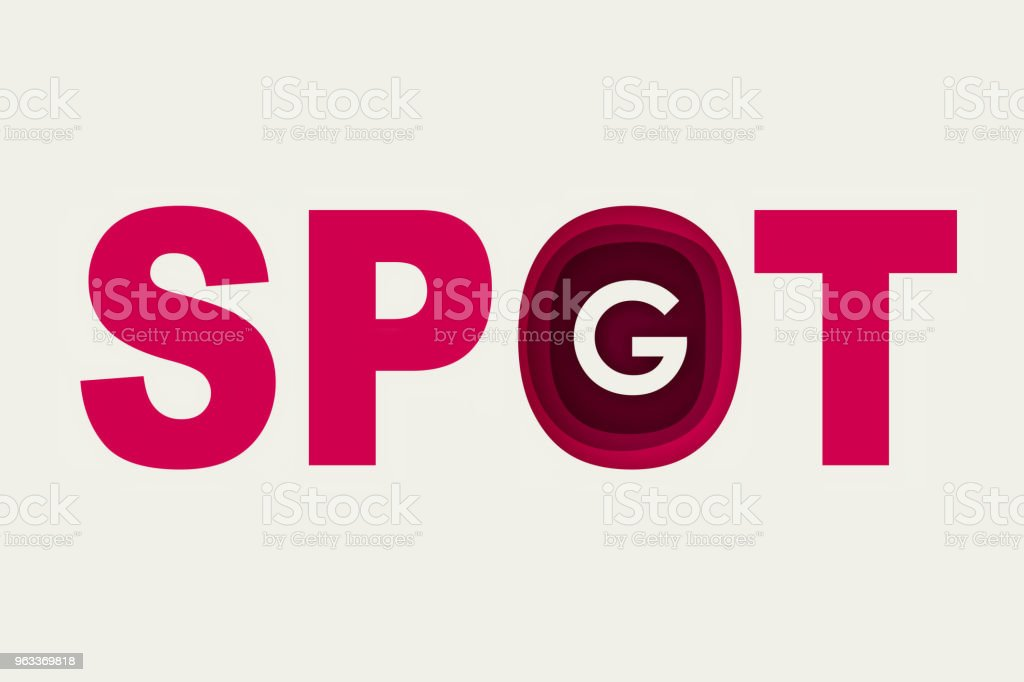 Spotg Text Symbol Stock Vector Art & More Images of Addiction ...