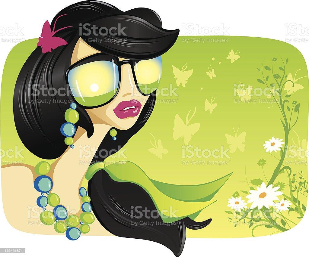 Spring Delights vector art illustration