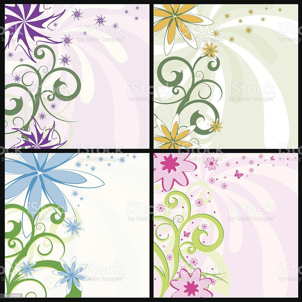 Spring flower backgrounds royalty-free spring flower backgrounds stock vector art & more images of art