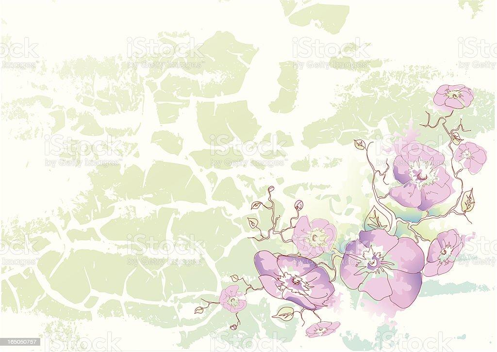 Spring Flowers BG royalty-free stock vector art