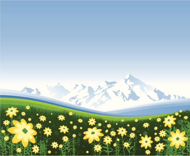 stockillustraties, clipart, cartoons en iconen met spring fresh - fresh start yellow