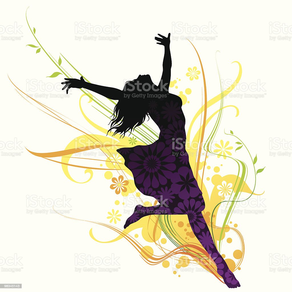 Spring Girl royalty-free spring girl stock vector art & more images of adult