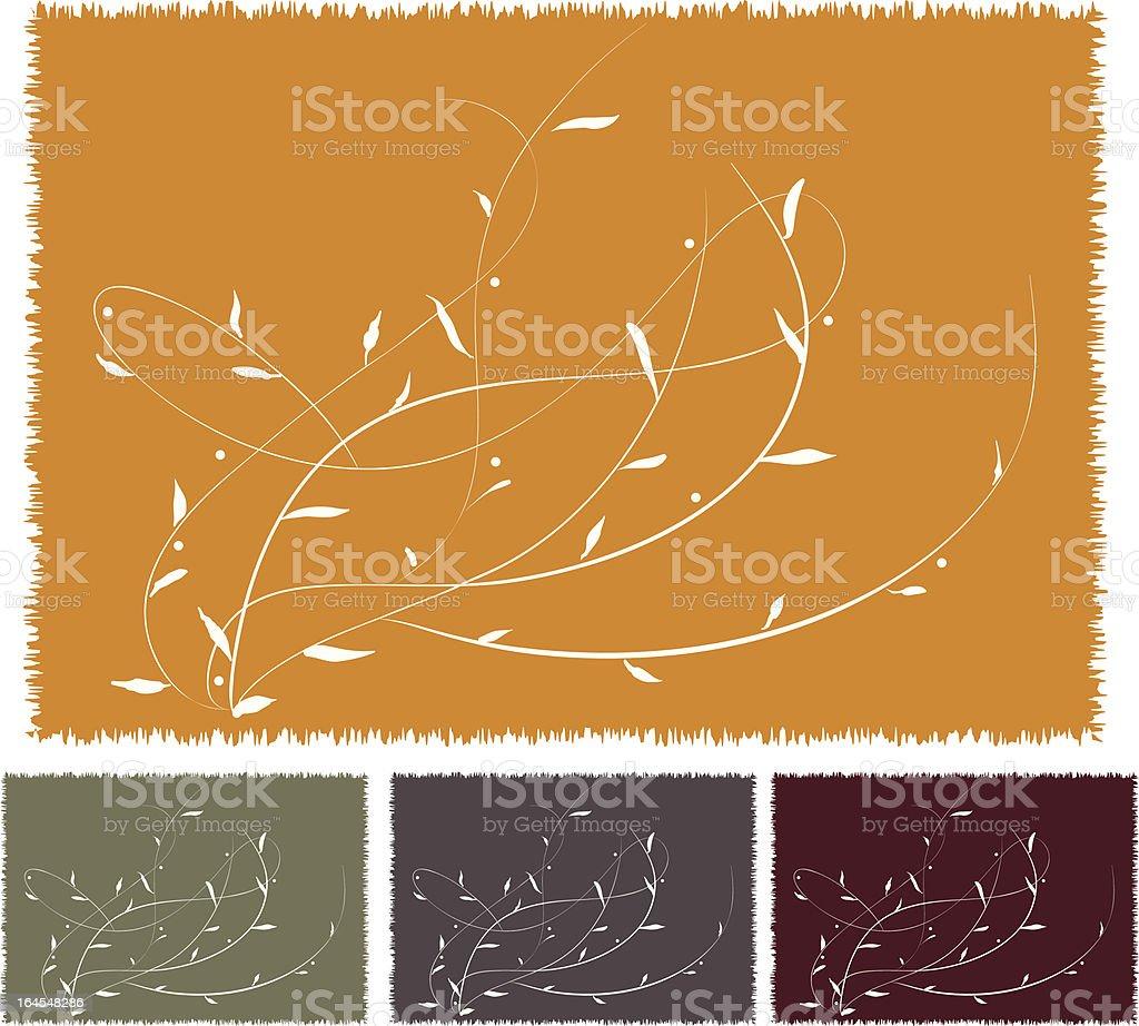 leafage de resorte - ilustración de arte vectorial