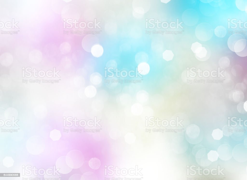 Spring pastel light fairy background. vector art illustration