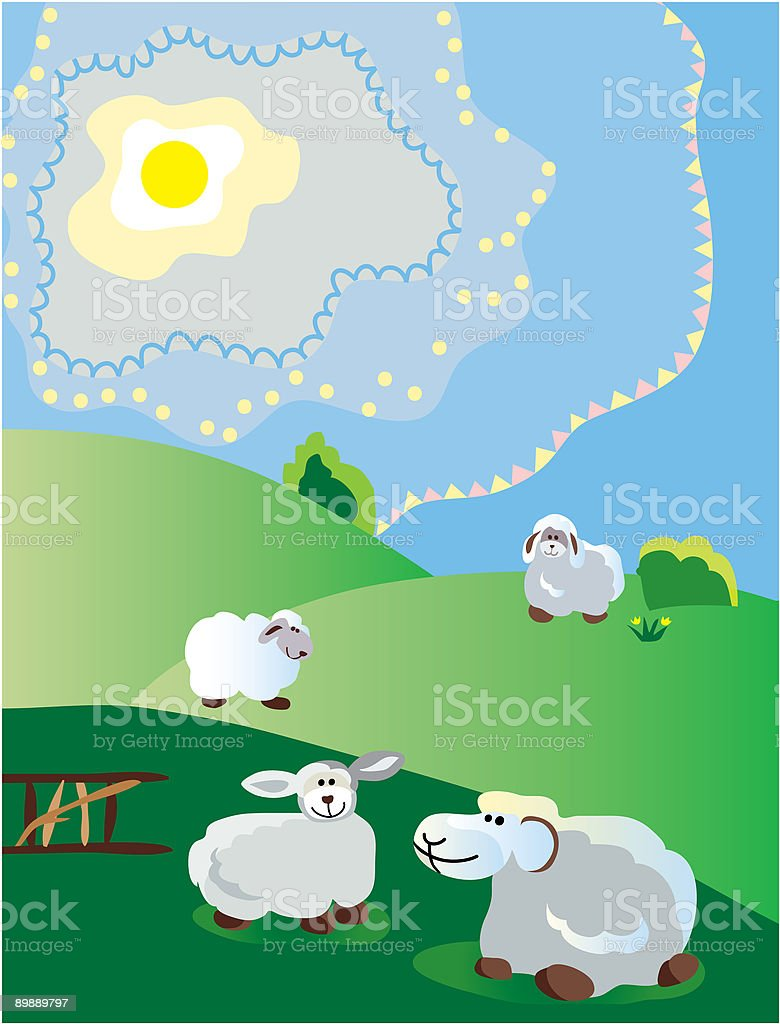 spring pastoral royalty-free spring pastoral stock vector art & more images of animal