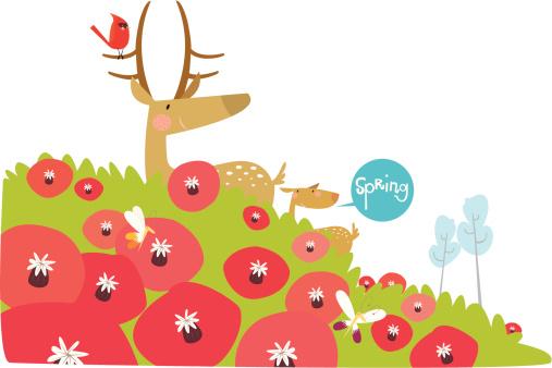 Spring Season Stockvectorkunst en meer beelden van Bloem - Plant