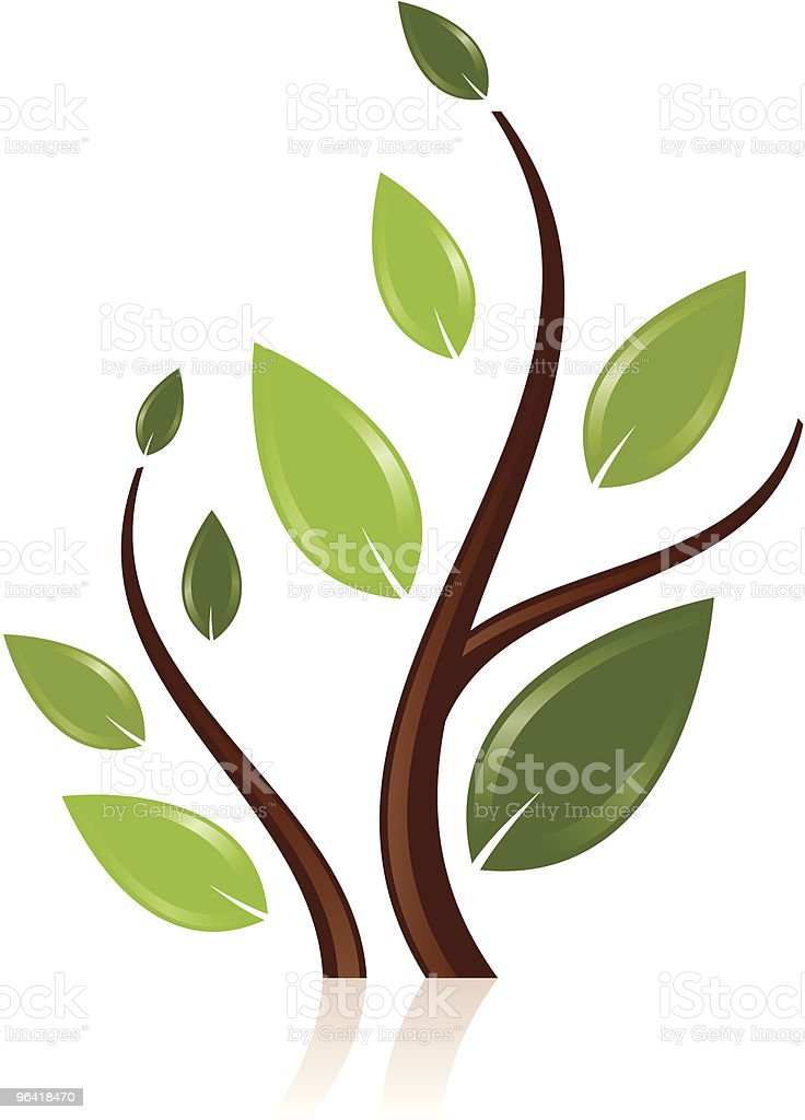Sprouts royalty-free stock vector art