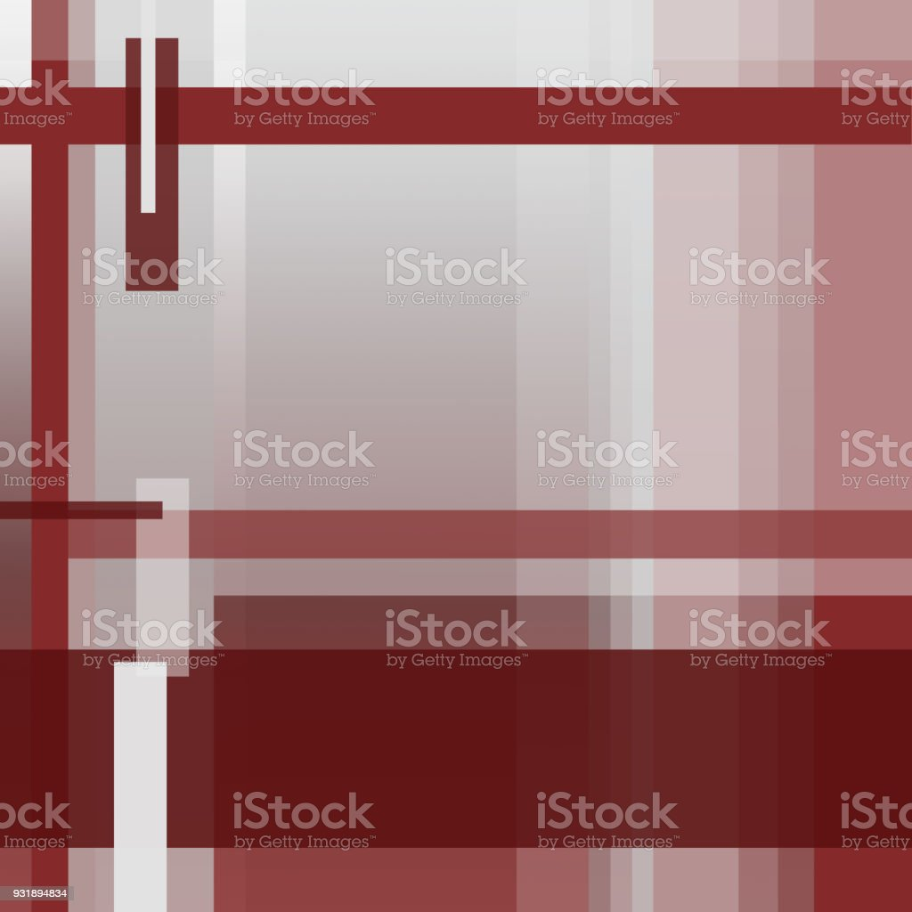 Square Geometric Background, Abstract Strip Pattern in dark Red, Bordo, Burgundy tones. Cover Layout modern Design. Rectangular Text Boxes. Technology Template for Books, Magazines, Brochures, Leaflets, Portfolio, Annual reports, Posters, Flyers векторная иллюстрация