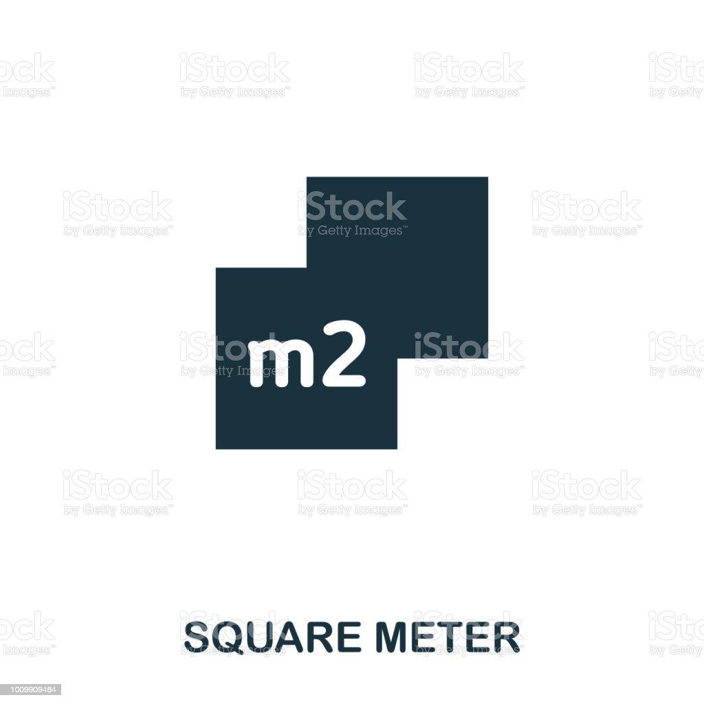 Square Meter Creative Icon Simple Element Illustration Square Meter
