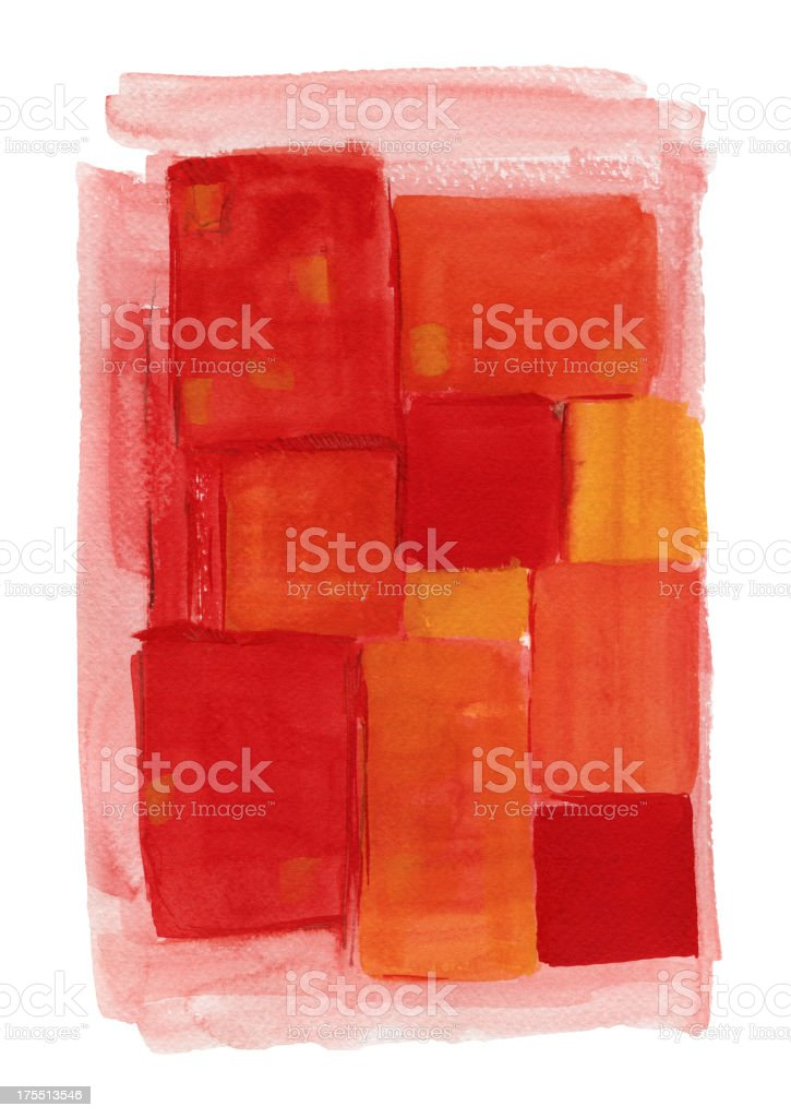Square Paint (Clipping Path) royalty-free stock vector art
