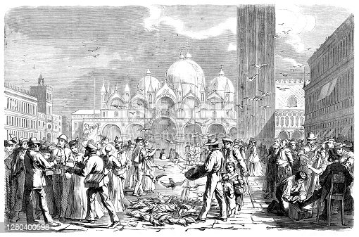 istock St Marks Square Venice Italy illustration 1866 1280400598