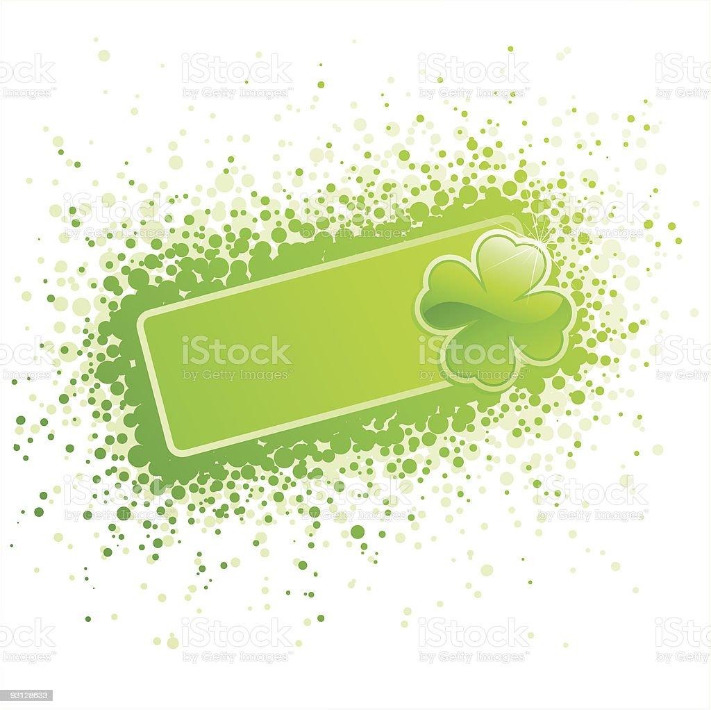 St. Patrick's Day design. royalty-free stock vector art