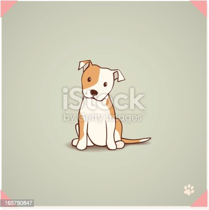 istock Staffordshire Bull Terrier Puppy 165790847