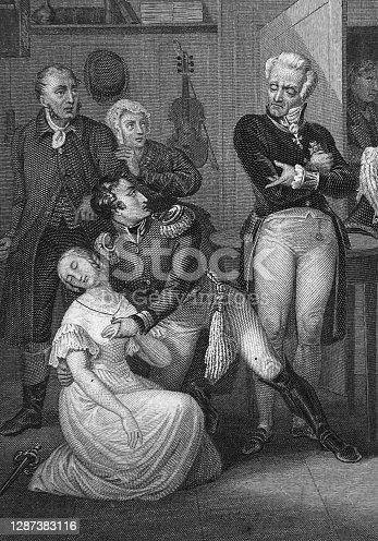 istock Stage play Kabale und Liebe by Friedrich Schiller 1287383116
