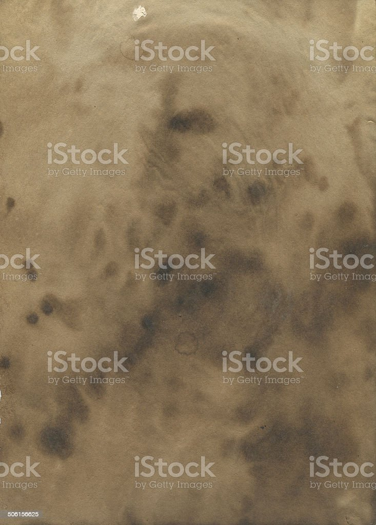 Stained old paper texture vector art illustration