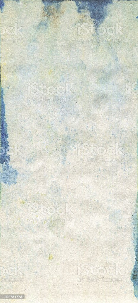 Stained old watercolour paper texture vector art illustration