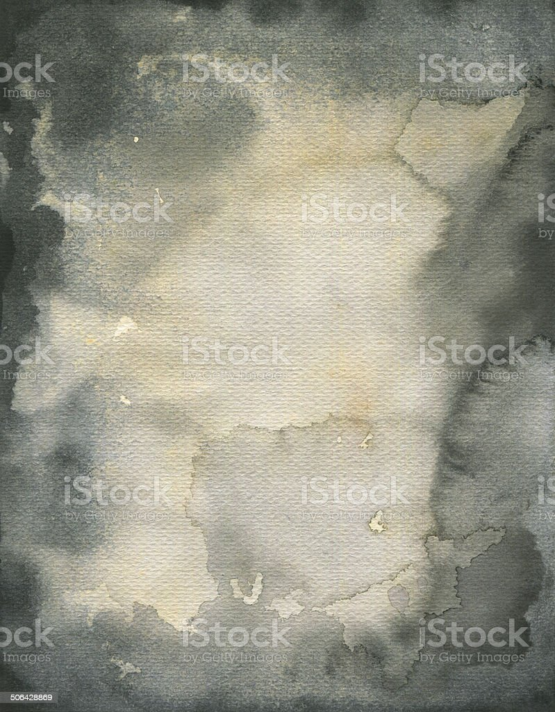 Stained watercolor texture vector art illustration