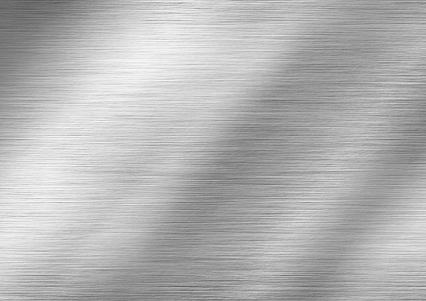 stainless steel - textured effect stock illustrations