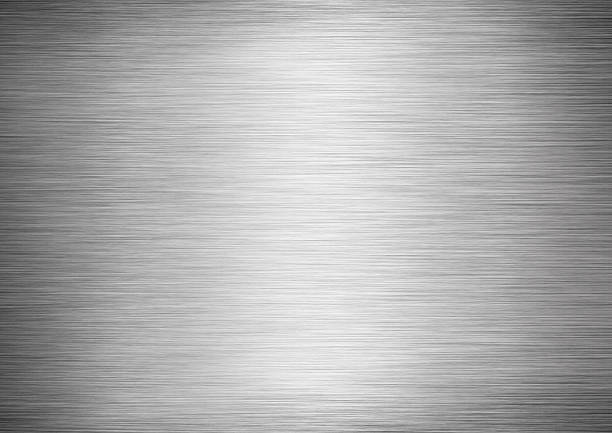 stainless steel texture - textured effect stock illustrations
