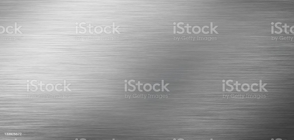 Stainless steel texture vector art illustration