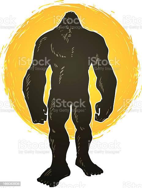 Standing bigfoot illustration id166083836?b=1&k=6&m=166083836&s=612x612&h=eris2kzhejgfjgezo26wqeruxbfos3b3k 2e1z5hbdi=