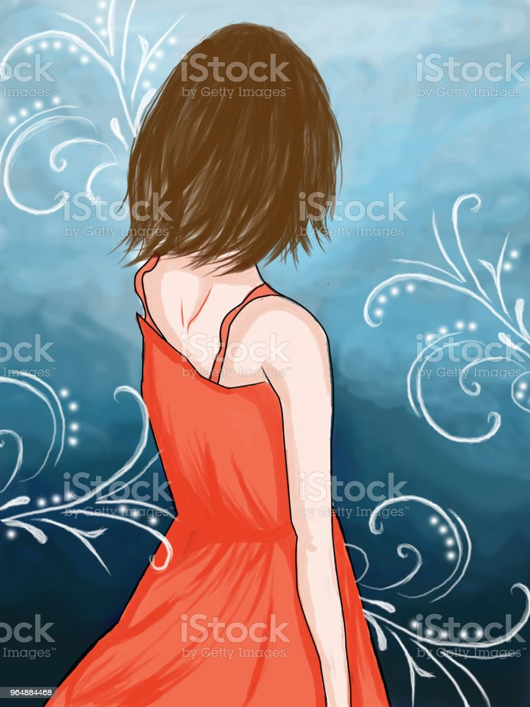 standing in a dream royalty-free standing in a dream stock vector art & more images of adult
