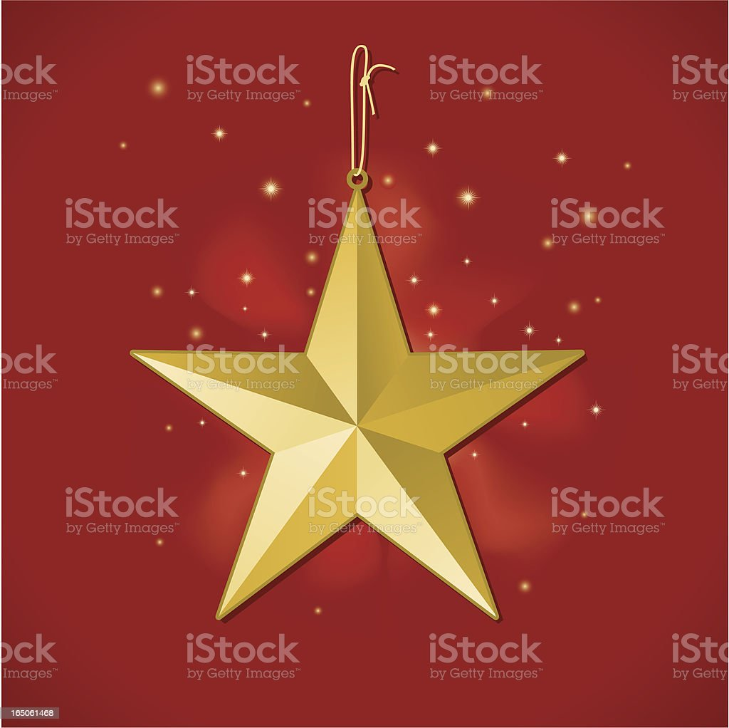 Star Ornament royalty-free stock vector art