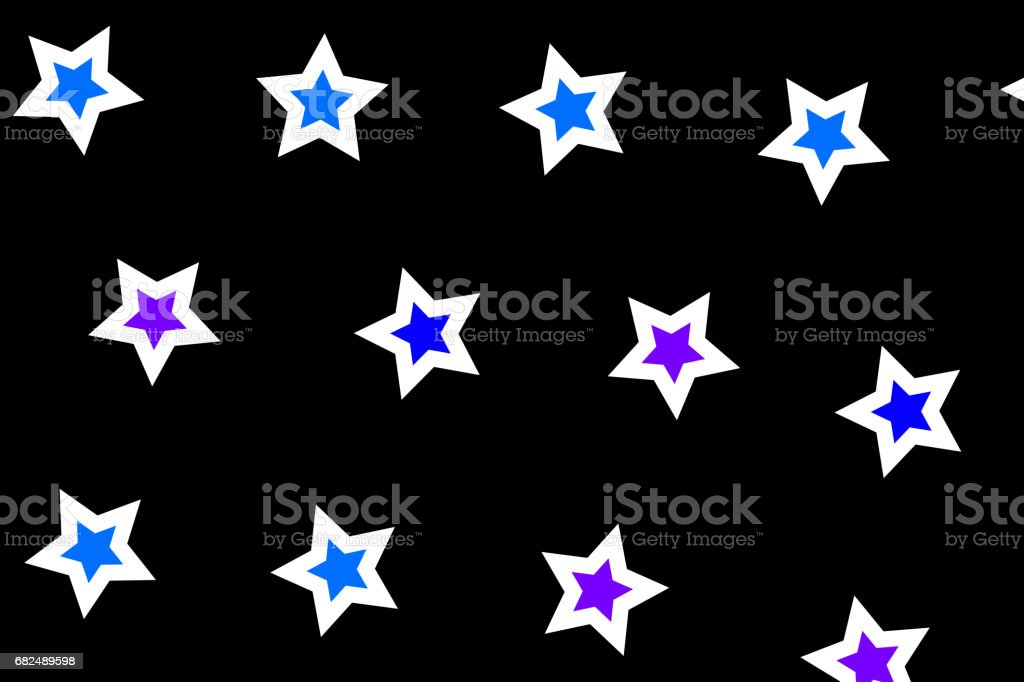 Star pattern with random shapes . christmas decoration royalty-free star pattern with random shapes christmas decoration stock vector art & more images of abstract