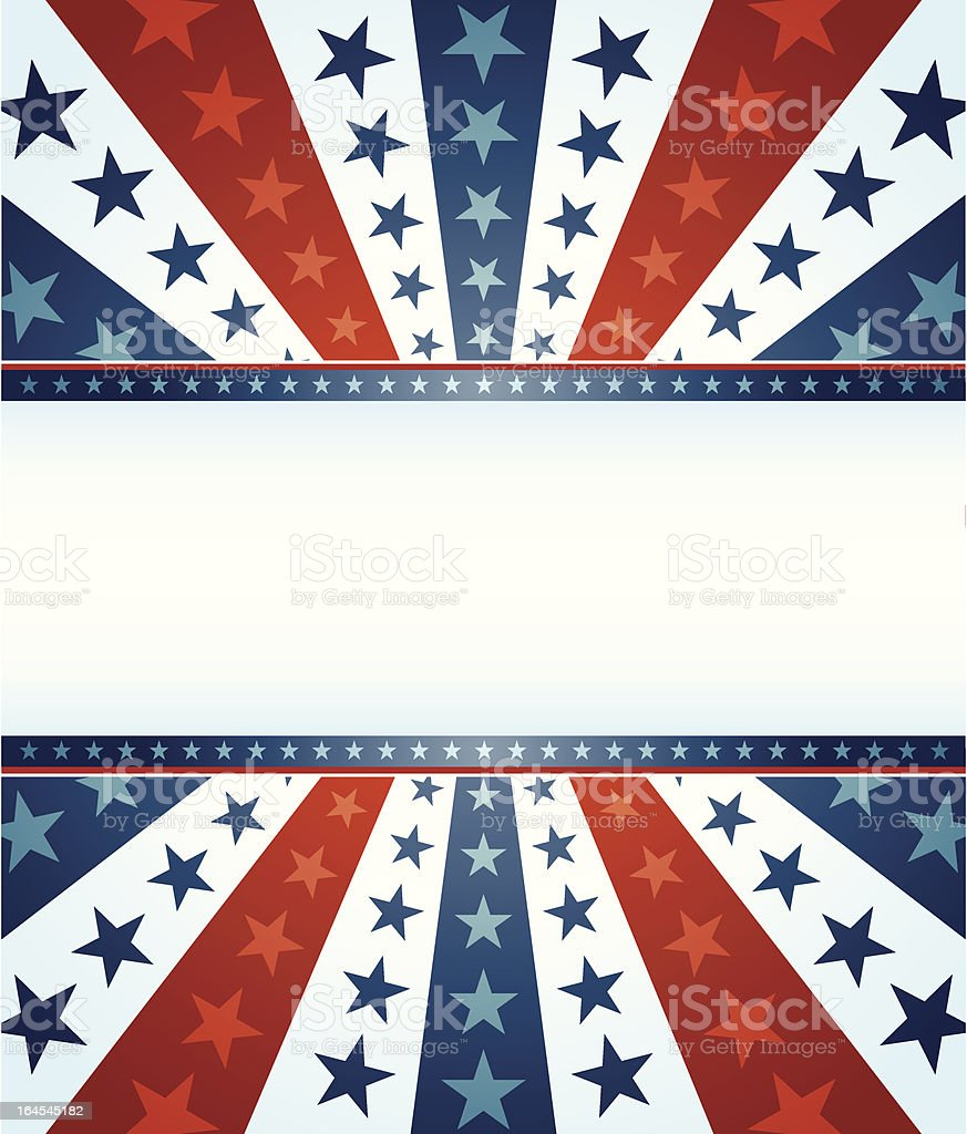 Star Spangled Banner royalty-free stock vector art