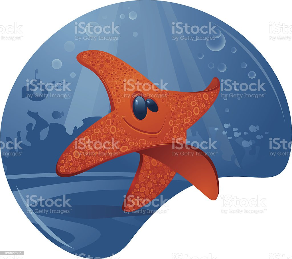 Starfish royalty-free starfish stock vector art & more images of animal