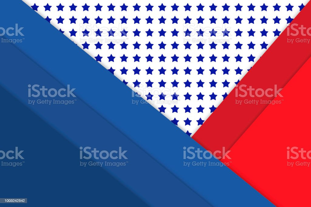 Stars And Stripes Background Or Wallpaper In Patriotic Red White And
