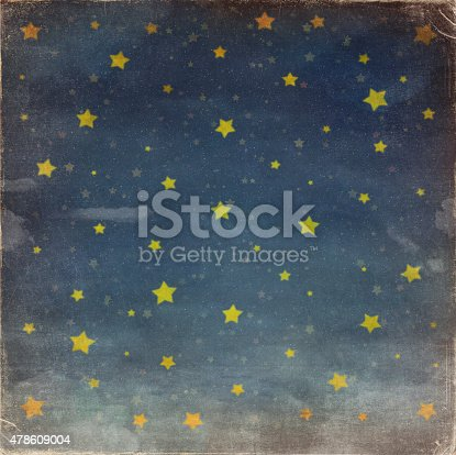 478539432 istock photo Stars at night grunge sky ,background 478609004