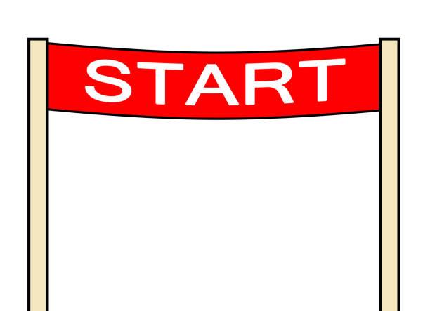 başlangıç kapısı - start stock illustrations