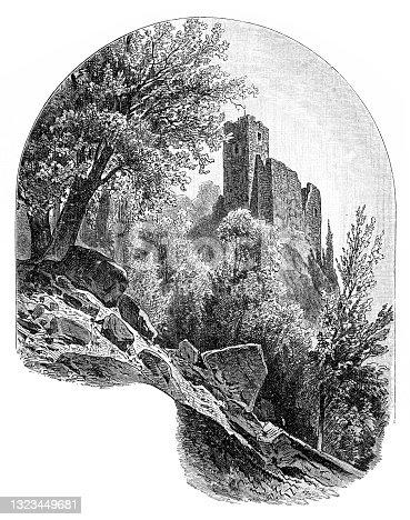 istock Stauf castle ruins ,Austria 1323449681