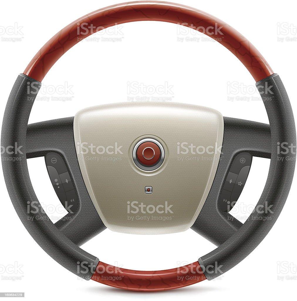 Steering Wheel royalty-free steering wheel stock vector art & more images of black color