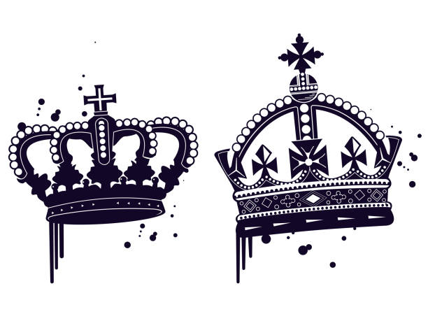Best Graffiti Crown Illustrations, Royalty-Free Vector Graphics