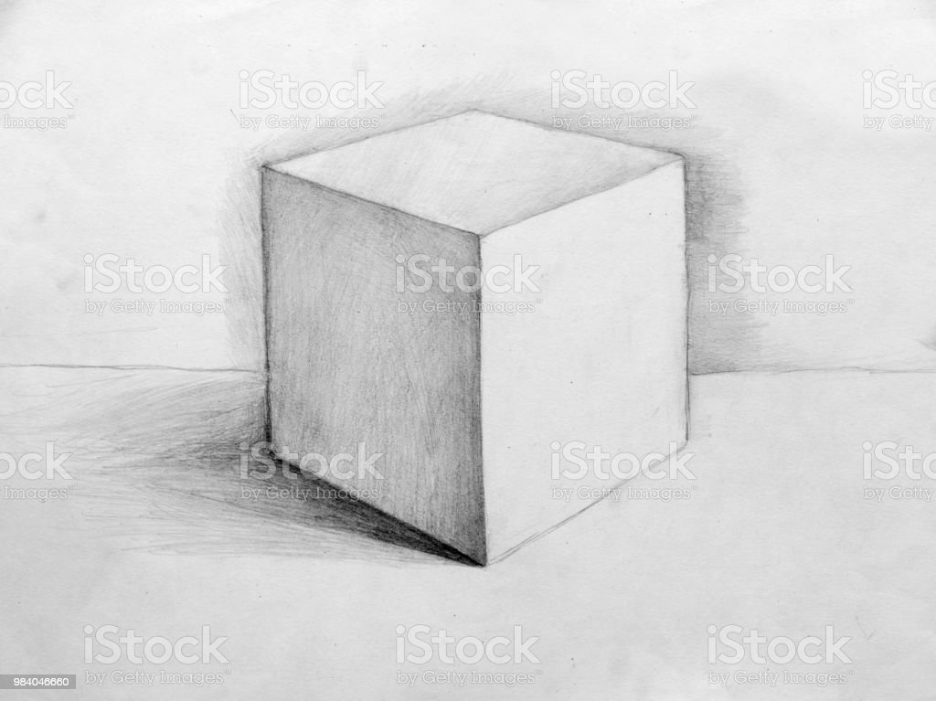 Stillleben Bleistiftzeichnung Skizze Stock Vektor Art Und Mehr