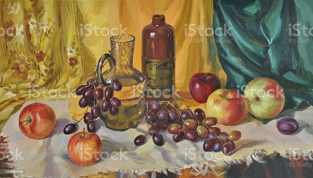 Still Life with Decanter royalty-free still life with decanter stock vector art & more images of alcohol