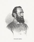 Stonewall Jackson (1824-1863), Confederate general  during the American Civil War