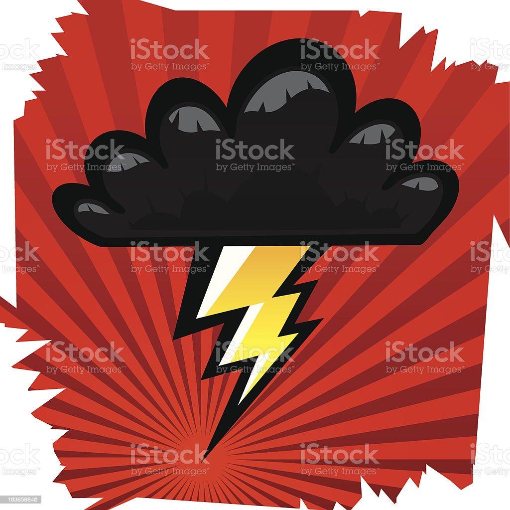 Stormcloud royalty-free stormcloud stock vector art & more images of cartoon