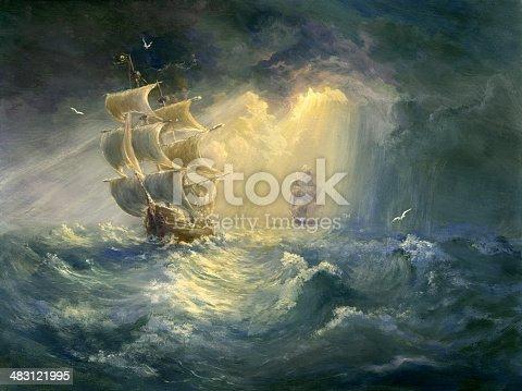 istock Stormy Sea 483121995