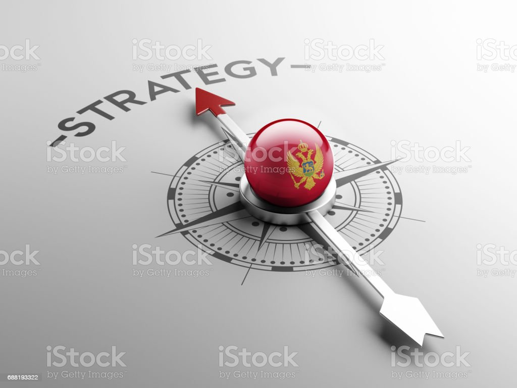 Strategy Concept vector art illustration